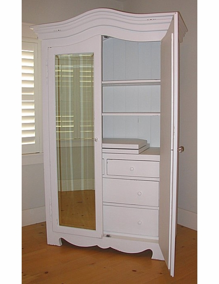 Grande Mirrored Armoire