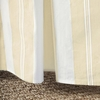 Grande Stripe Sand Crib Skirt