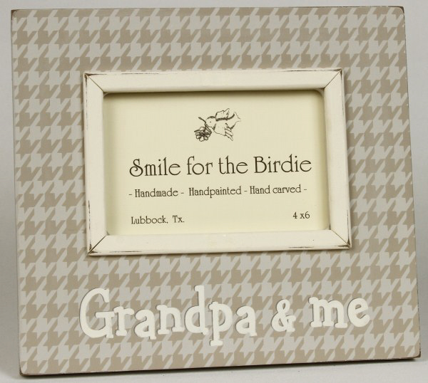 Grandpa And Me Picture Frame By Smile For The Birdie