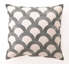 Granite Scales Linen Embroidered Pillow