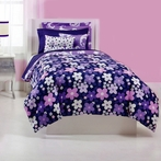 Grape Gatsby Comforter Set