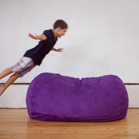 Grape Junior Sofa Saxx Bean Bag