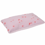 Graph & Stars Pink Cloth Pillow