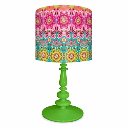 Graphic Blooms Lamp