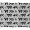 Graphic Zoo Fleece Throw Blanket