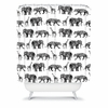 Graphic Zoo Shower Curtain