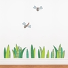 Grass and Dragonflies Wall Decal