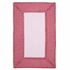 Gravel Bay Rug in Soft Pink