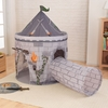 Gray Castle Tent with Tunnel