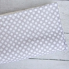 Gray Dot Crib Blanket