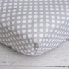 Gray Dot Crib Sheet