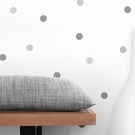 Gray Dot Wall Decals