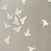 Gray Flutter Birds Wallpaper