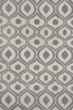 Gray Geometric Bliss Rug