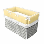 Gray Links Crib Bedding Set