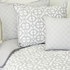 Gray Mod Pillow Sham