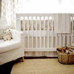 Gray & Neutral Boys Crib Bedding