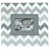 Gray Ombre Chevron Picture Frame