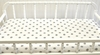 Gray on White Polka Dot Changing Pad Cover