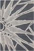 Gray Web Counterfeit Rug