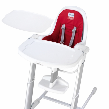 Gray Zuma Highchair - Light Blue