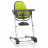 Gray Zuma Highchair - Lime