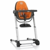 Gray Zuma Highchair - Orange