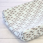 Grayson's Gray Changing Pad Cover