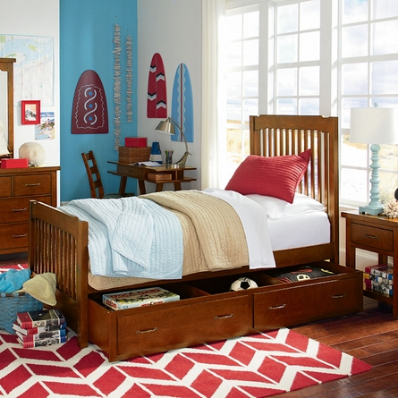 Grayson Twin Panel Bed