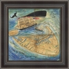 Great Surf Fishing Framed Wall Art