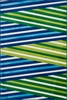 Green and Blue Striped Juniper Rug