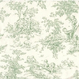 Green Baby Toile - Grade B