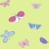 Green Butterflies Wallpaper