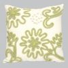 Green Chenille Pillow
