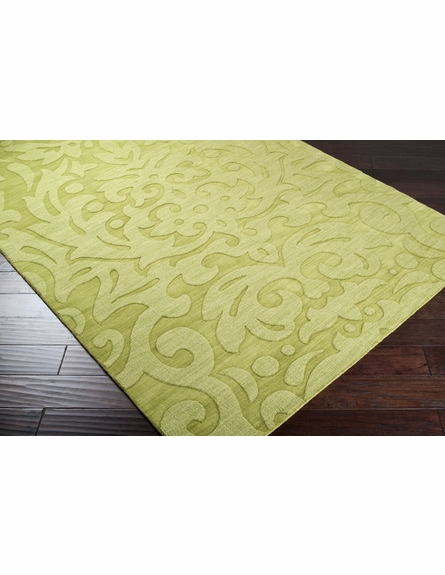 Green Damask Mystique Rug