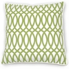 Green Geo Pillow