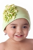 Green Geranium Cotton Hat