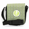 Green Greek Key Monogram Sling Bag