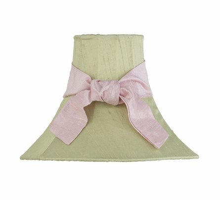 Green Medium Bell Lamp Shade