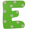 Green Polka Dot Wall Letter - E