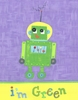 Green Robot Canvas Reproduction