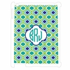 Green Sabrina Personalized iPad Case