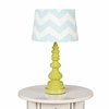Green Spindle Table Lamp Base