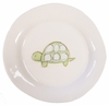 Green Turtle on White Personalized Ceramic Dish Collection