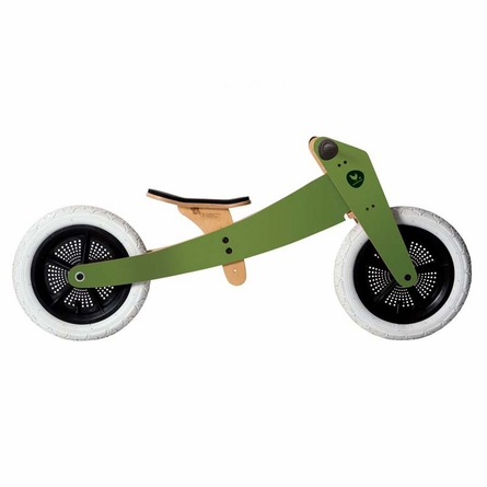 Green Wishbone Bike - 3 in 1