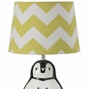 Green Zig Zag Lamp Shade