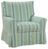 Greta Slipcovered Swivel Glider Chair