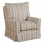 Greta Upholstered Swivel Glider Chair