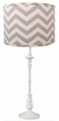 Grey Chevron Lamp Shade