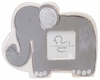 Grey Elephant on White Ceramic Picture Frame